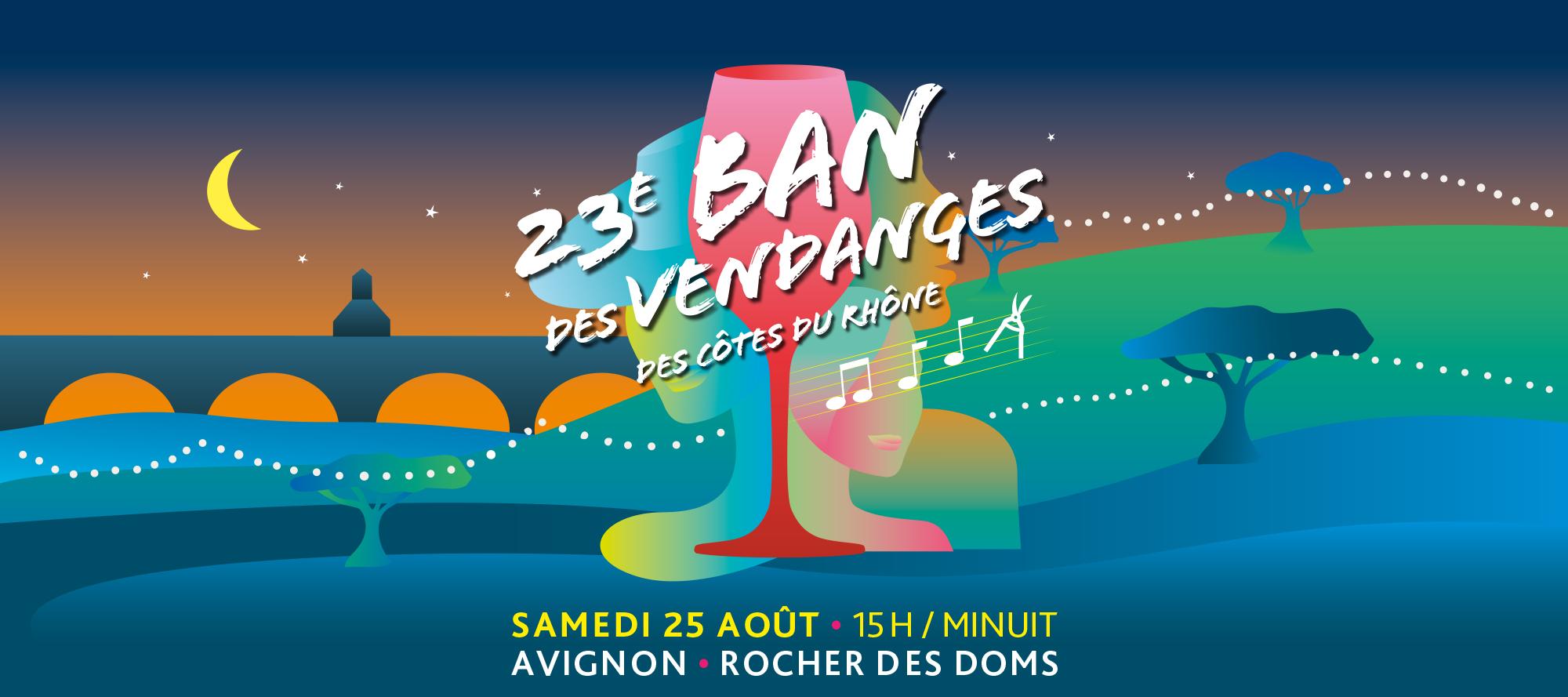 23e Ban des Vendanges des Côtes du Rhône