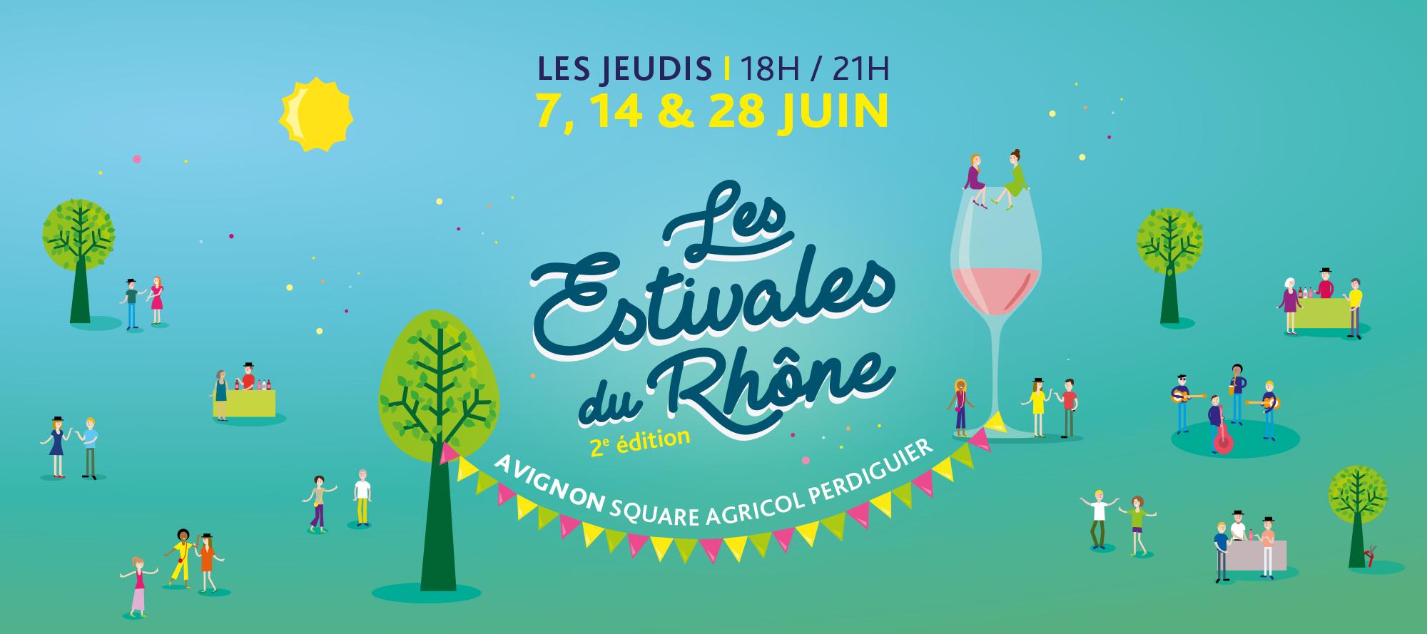 Estivales du Rhône Avignon 2e édition